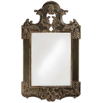 Howard Elliott Park Lane 64 x 94 Ebony Wall Mirror