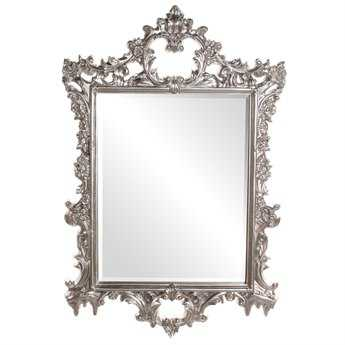 Howard Elliott Sherman 31 x 47 Bright Silver Wall Mirror