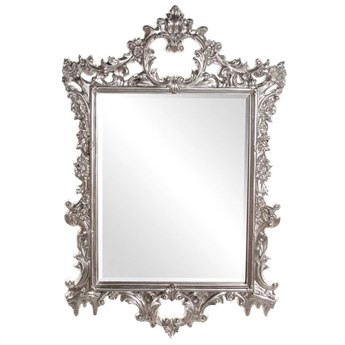 Howard Elliott Sherman 31 x 47 Bright Silver Wall Mirror