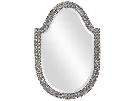 Howard Elliott Lancelot 21 x 32 Glossy Nickel Mirror