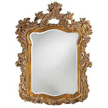 Howard Elliott Turner 42 x 56 Antique Gold Wall Mirror