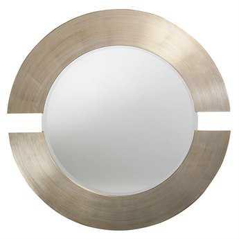 Howard Elliott Orbit 38 Round Grey Wall Mirror