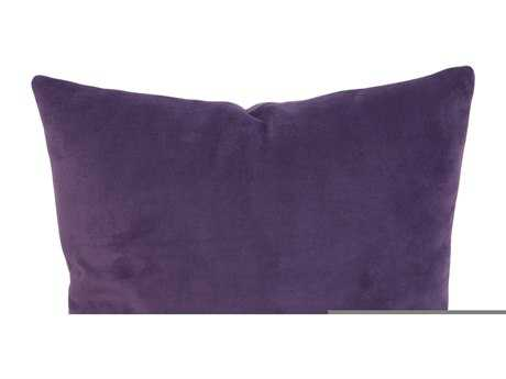 Howard Elliott Square 20 x 20 Purple Pillow