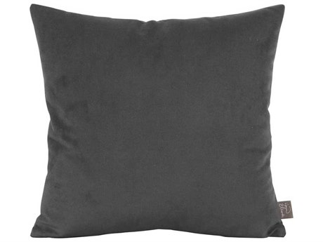 Howard Elliott Bella Pewter 20'' x 20'' Pillow