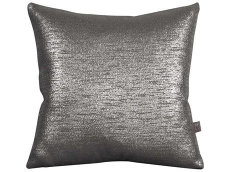 Howard Elliott Square 20 x 20 Black Pillow
