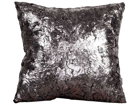 Howard Elliott Square 20 x 20 Silver Pillow