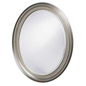 Howard Elliott George 25 x 33 Nickel Wall Mirror