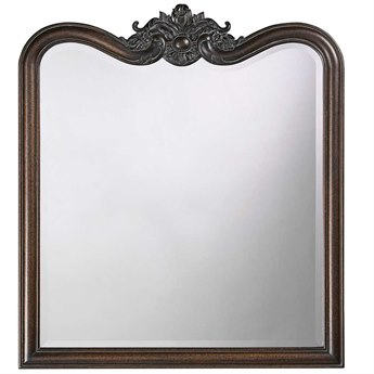 Howard Elliott Eliza 34 x 38 Vintage Wall Mirror