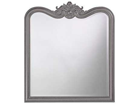 Howard Elliott Eliza 34 x 38 Charcoal Grey Wall Mirror