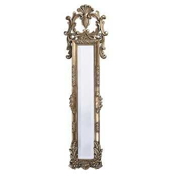 Howard Elliott Thackery 16 x 58 Antique Silver Floor Mirror