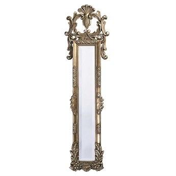 Howard Elliott Thackery 16 x 58 Antique Silver Floor Mirror