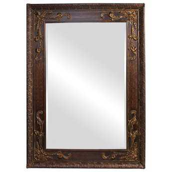 Howard Elliott Lila 60 x 84 Brown Wall Mirror