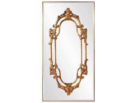 Howard Elliott Akira 47 x 91 Gold Wall Mirror