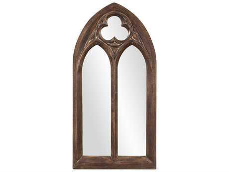 Howard Elliott Basilica Arched Narrow Wall Mirror