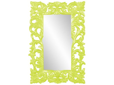 Howard Elliott Augustus Glossy Green Wall Mirror