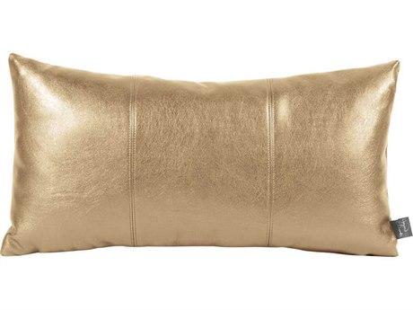 Howard Elliott Rectangle Shimmer Gold Kidney Pillow