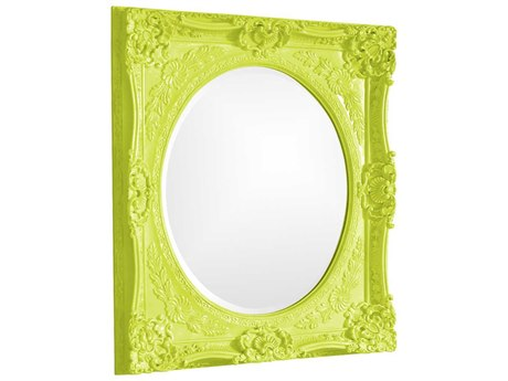 Howard Elliott Monique 30 x 34 Green Wall Mirror