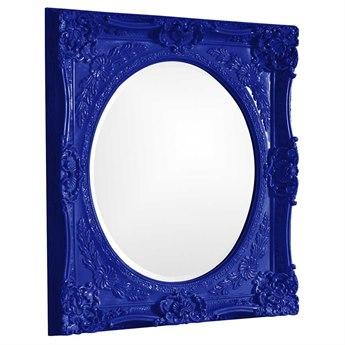 Howard Elliott Monique 30 x 34 Royal Blue Wall Mirror