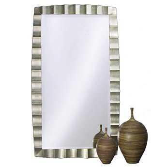 Howard Elliott Bangkok 48 x 84 Silver Wall Mirror