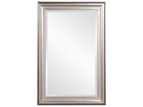 Howard Elliott George 24 x 36 Bright Nickel Wall Mirror