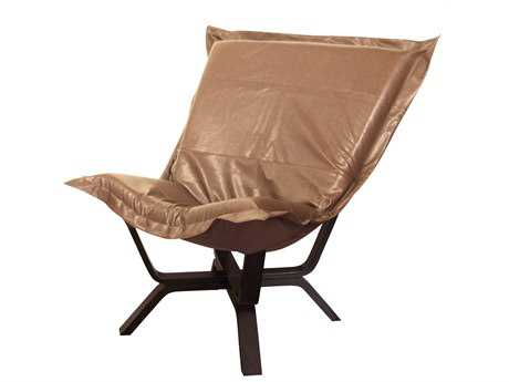 Howard Elliott Avanti Bronze Milan Puff Chair