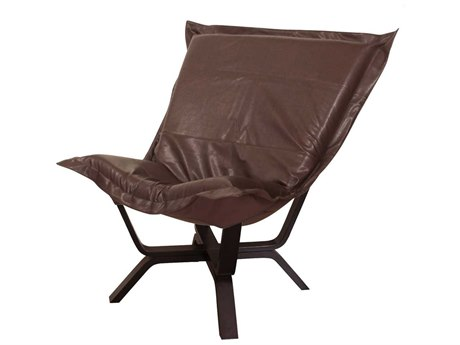 Howard Elliott Avanti Pecan Milan Puff Chair