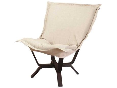 Howard Elliott Sterling Sand Milan Puff Chair