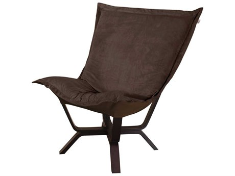 Howard Elliott Bella Chocolate Milan Puff Chair