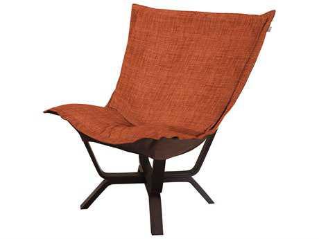 Howard Elliott Coco Coral Milan Puff Chair
