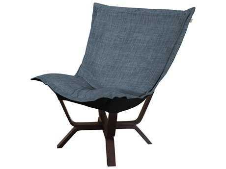 Howard Elliott Coco Sapphire Milan Puff Chair