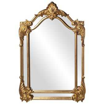 Howard Elliott Cortland 32 x 47 Gold Wall Mirror