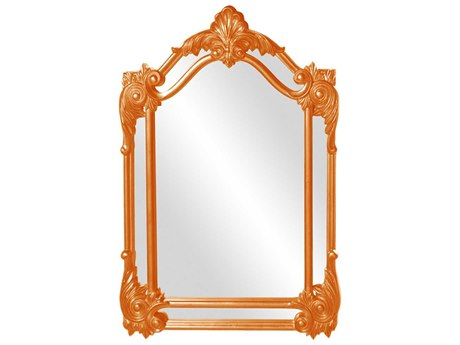Howard Elliott Cortland 32'' W x 47'' H Orange Wall Mirror