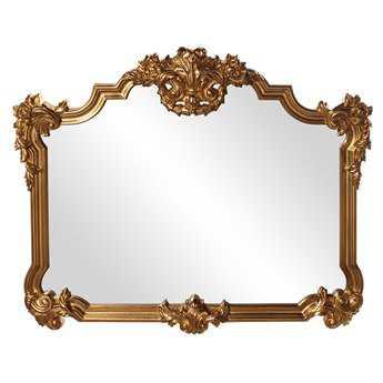 Howard Elliott Avondale 39 x 48 Bright Gold Wall Mirror