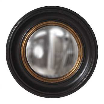 Howard Elliott Albert 21 Round Black Wall Mirror