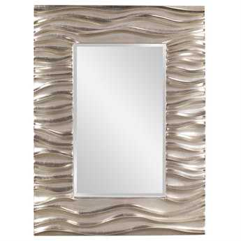 Howard Elliott Zenith 31 x 39 Silver Wall Mirror