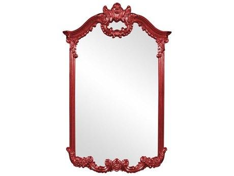 Howard Elliott Roman 32'' W x 51'' H Red Wall Mirror