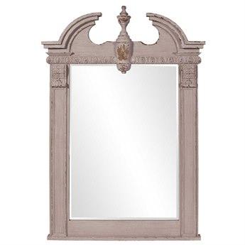 Howard Elliott Thornbury 46 x 71 Gray Wall Mirror