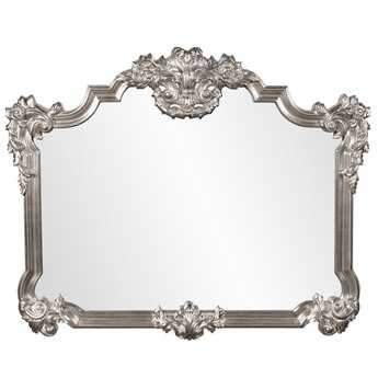 Howard Elliott Brighton 39 x 48 Silver Wall Mirror