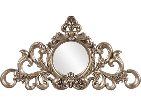 Howard Elliott Irene Silver Leaf Wall Mirror