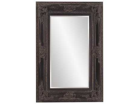 Howard Elliott Victoria 40 x 60 Antique Black Wall Mirror