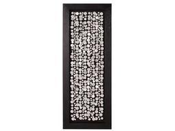 Howard Elliott Chrome Coins 24 x 63 Black Wall Panel