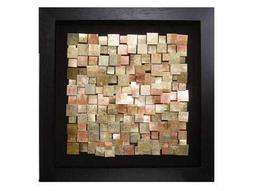 Howard Elliott Acid Treated Copper 47 x 47 Brown Framed Wall Art