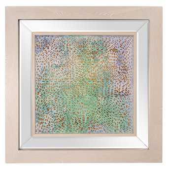 Howard Elliott Pastel 47 x 47 Multi-Color Framed Wall Art