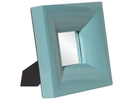 Howard Elliott Candy 9 x 9 Teal Table Top Mirror