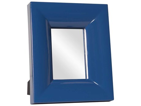 Howard Elliott Candy 10 x 12 Blue Table Top Mirror