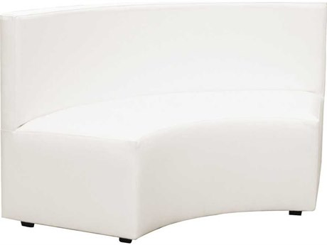 Howard Elliott Radius 66 x 27 White Bench