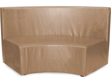 Howard Elliott Radius 66 x 27 Brown Bench