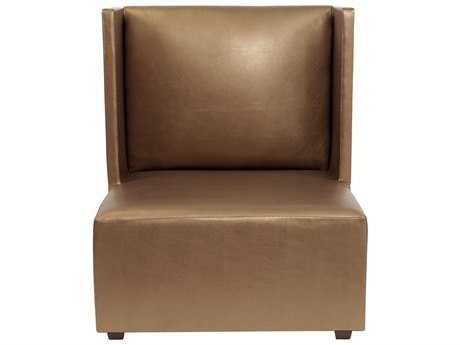 Howard Elliot Square Shimmer Bronze Square Living Chair