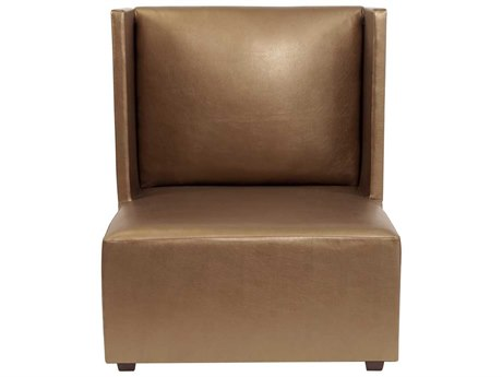 Howard Elliott Square Shimmer Bronze Square Living Chair
