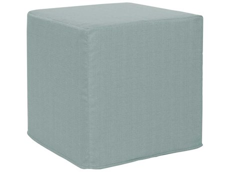 Howard Elliott Sterling Breeze No Tip Block Ottoman